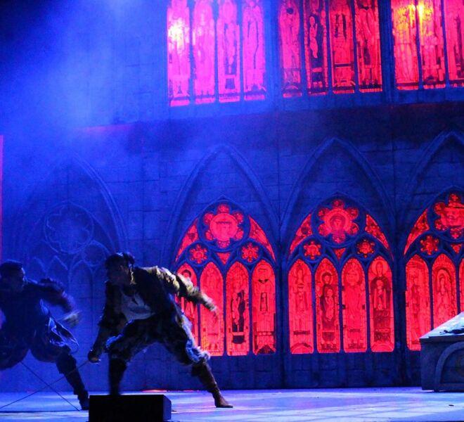 Pelea Final Romeo y Tebaldo TP